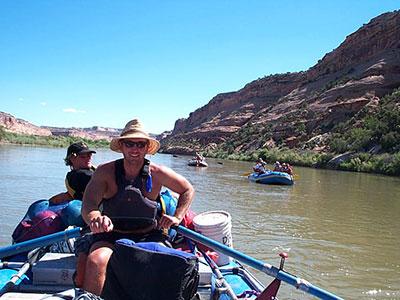 Paddling in Moab Utah