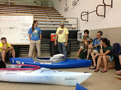 Adaptive Paddling Workshop Debrief