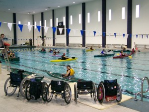 Adaptive Paddlesport Pool Session