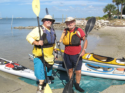 Adaptive sea kayakers