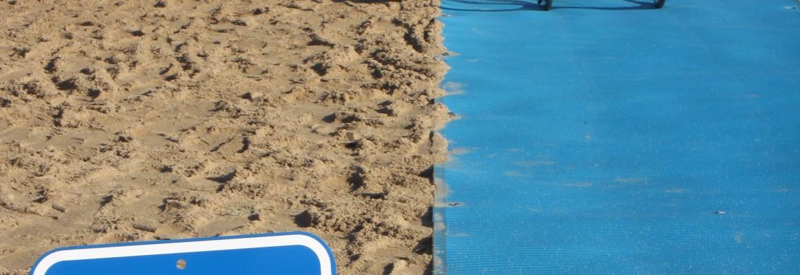 Beach Mat for wheelchairs