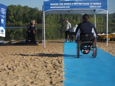 Beach Mat for wheelchairs