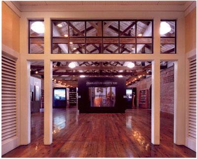 Charleston Visitor Center Interior