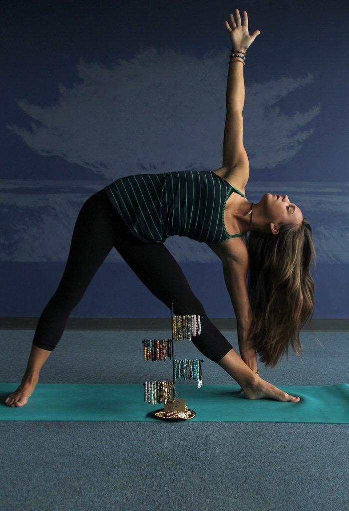 Photo of Kasey O'Haren in yoga pose