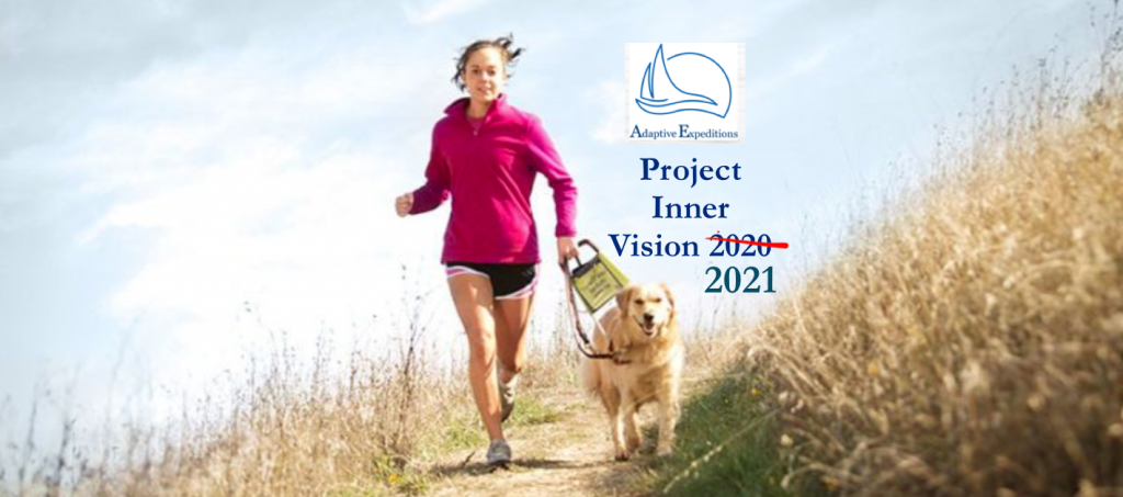 Banner photo of woman running with dog