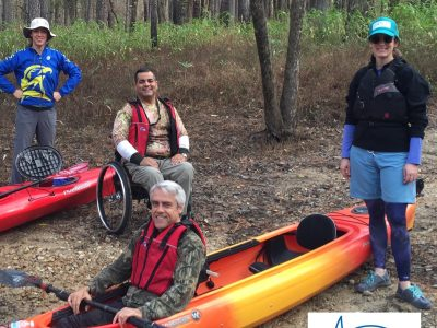 Folks leaving wheelchairs behind for kayaks